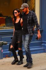 SARA SAMPAIO and Oliver Ripley Out in New York 05/01/2017