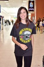 SARA SAMPAIO Arrives at Airport in Nice 05/17/2017