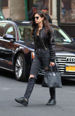 SARA SAMPAIO Out in New York 05/02/2017