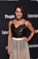 SARAH SHAHI at Entertainment Weekly and People Upfronts Party in New York 05/15/2017