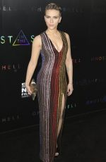 SCARLETT JOHANSSON at Ghost in the Shell Premiere in New York 05/29/2017