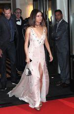 SELENA GOMEZ on Her Way to MET Gala in New York 05/01/2017
