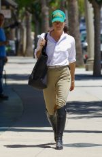 SELMA BLAIR Out and About in Studio City 05/19/2017