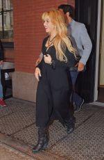 SHAKIRA Leaves Her Hotel in New York 05/16/2017