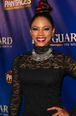 SHANICA KNOWLES at The Bodyguard Opening Night in Los Angeles 05/02/2017