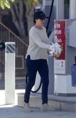 SHANNEN DOHERTY at a Gas Station in Los Angeles 05/22/2017