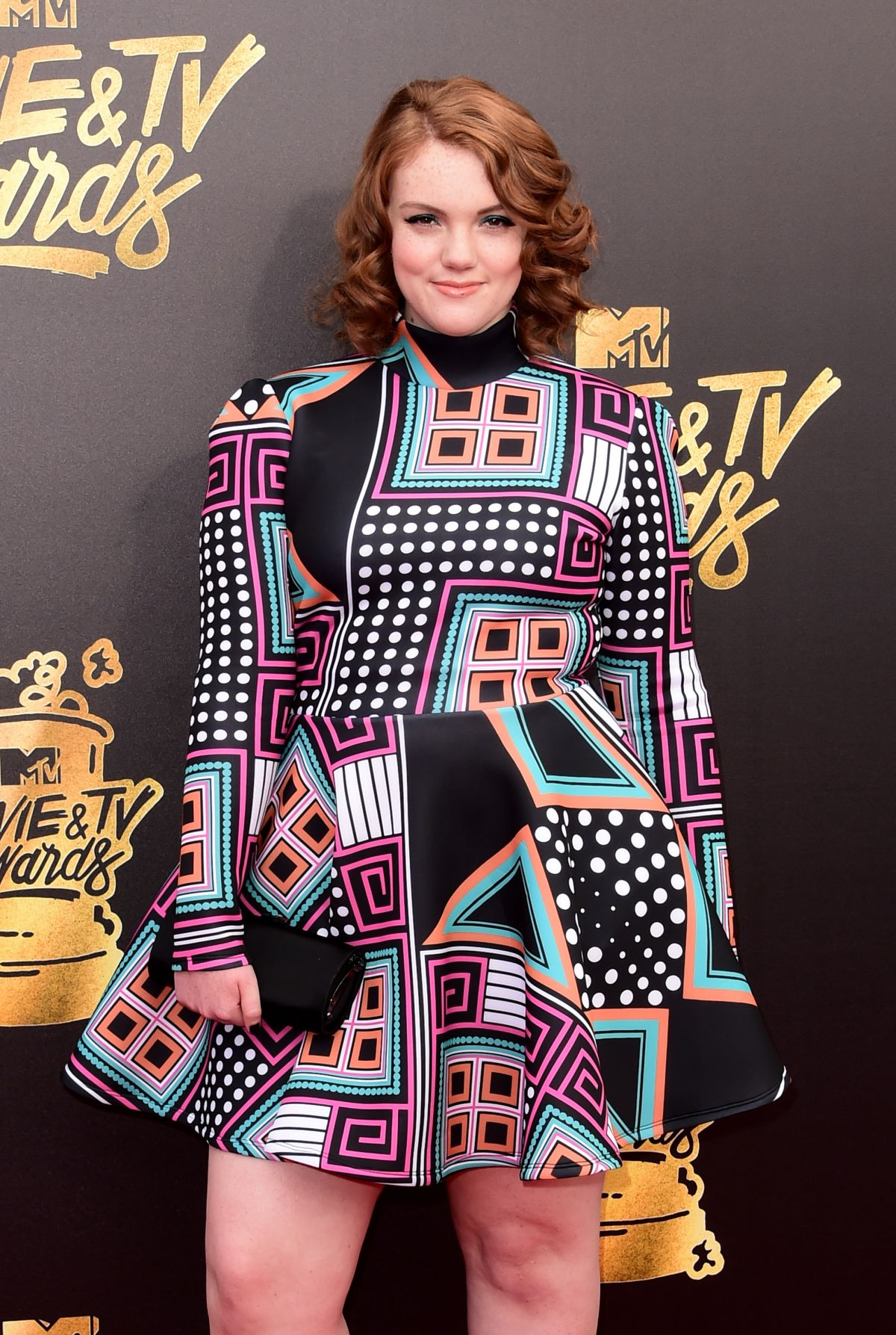 SHANNON PURSER at 2017 MTV Movie & TV Awards in Los Angeles 05/07/2017