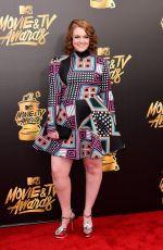 SHANNON PURSER at 2017 MTV Movie & TV Awards in Los Angeles 05/07/2017