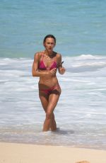 SHARNI VINSON in Bikini on the Beach in Hawaii 05/02/2017