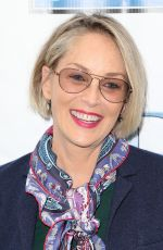 SHARON STONE at Breast and Prostate Cancer Studies Mother