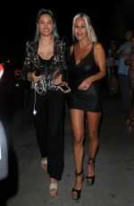 SHAUNA SAND at Catch LA in West Hollywood 05/23/2017