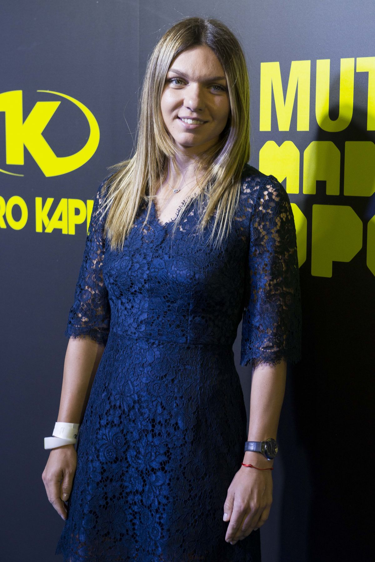 SIMONA HALEP at Mutua Madrid Open Party in Madrid 05/05/2017