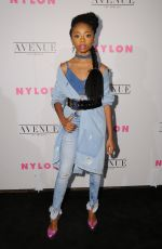 SKAI JACKSON at Nylon Young Hollywood May Issue Party in Los Angeles 05/02/2017