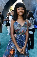 SKAI JACKSON at Pirates of the Caribbean: Dead Men Tell no Tales Premiere in Hollywood 05/18/2017