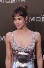 SOFIA BOUTELLA at The Mummy Premiere in Madrid 05/29/2017