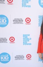 SOFIA CARSON at Unicef Kid Power Los Angeles Event 05/13/2017