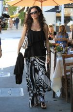 SOFIA MILOS Out and About in Beverly Hills 05/19/2017