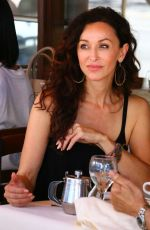 SOFIA MILOS Out for Lunch in Beverly Hills 05/19/2017