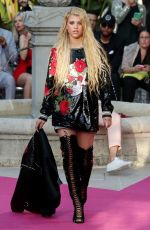 SOFIA RICHIE at Philipp Plein Resort Collection Show at Cannes Film Festival 05/24/2017