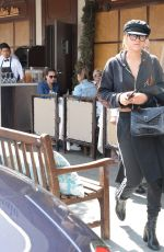 SOFIA RICHIE Out for Lunch in West Hollywood 05/05/2017