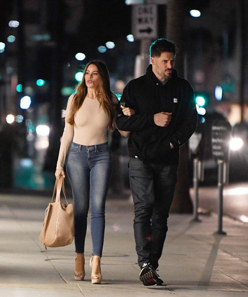 SOFIA VERGARA and Joe Manganiello Out in Beverly Hills 05/04/2017