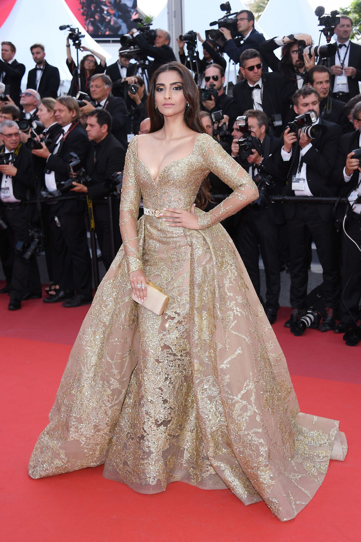 SONAM KAPOOR at The Killing of a Sacred Deer Premiere at 70th Annual Cannes Film Festival 05/22/2017