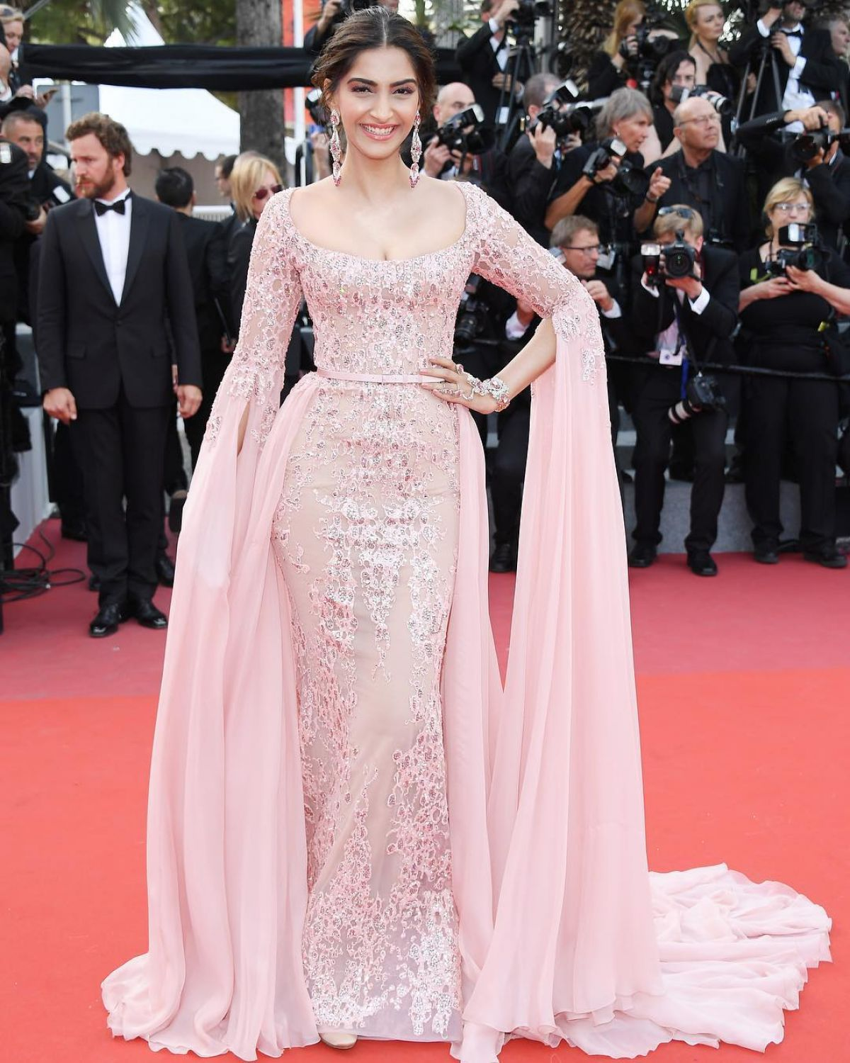 SONAM KAPOOR at The Meyerowitz Stories Premiere at 70th Annual Cannes Film Festival 05/21/2017