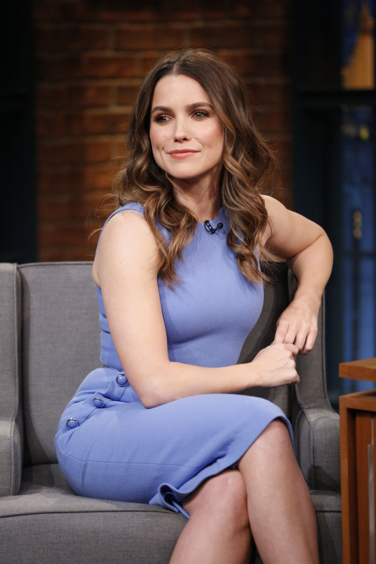 SOPHIA BUSH at Late Night with Seth Meyers 05/10/2017 ...