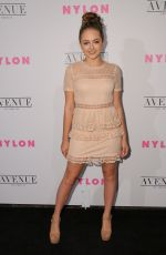 SOPHIE REYNOLDS at Nylon Young Hollywood May Issue Party in Los Angeles 05/02/2017