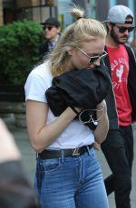 SOPHIE TURNER Leaves Her Hotel in New York 05/04/2017