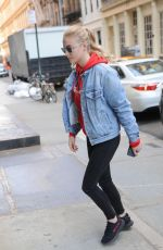 SOPHIE TURNER Out and About in New York 05/02/2017