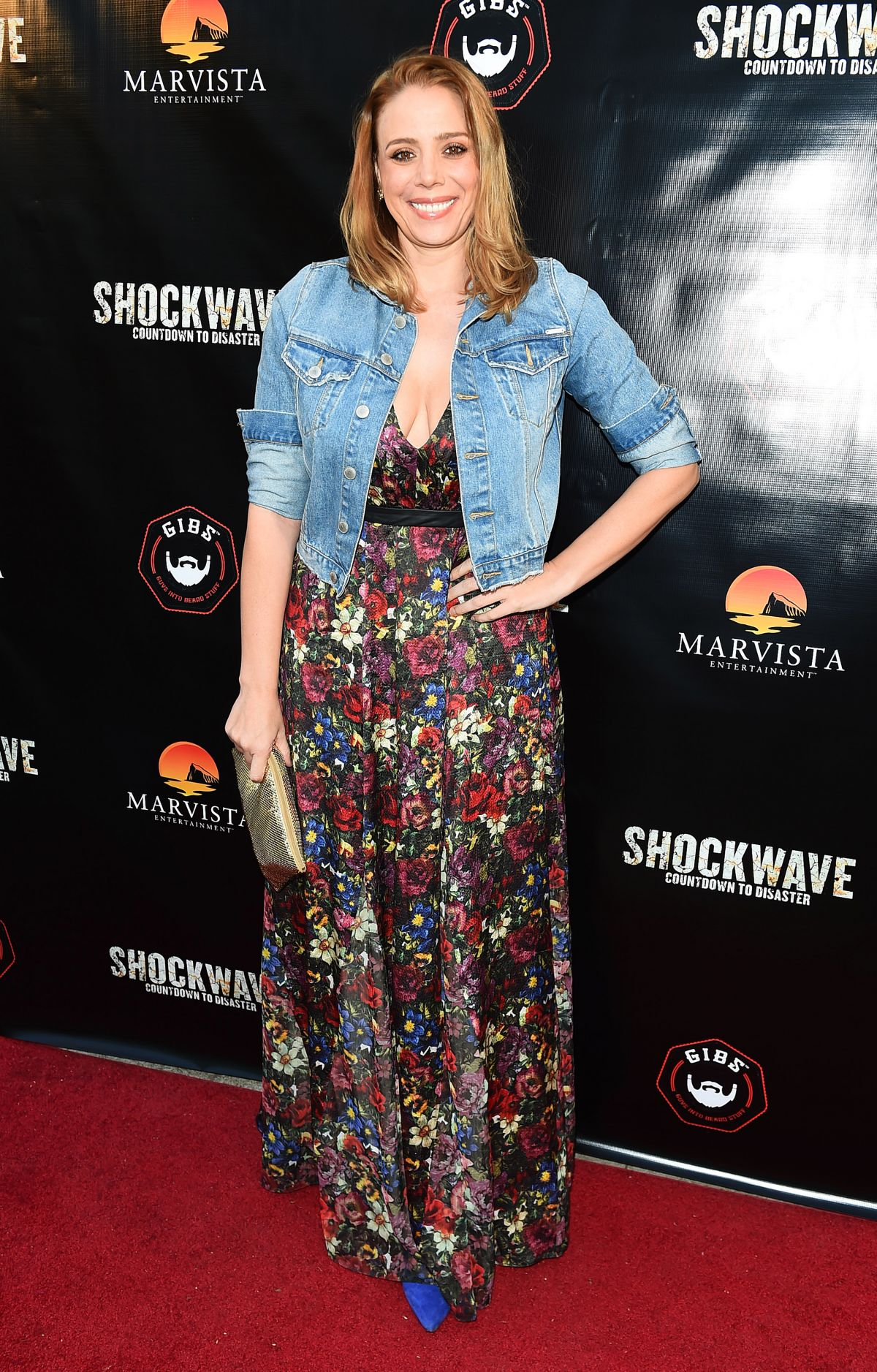 STACEY ORISTANO at Shockwave Premiere in Los Angeles 05/11/2017