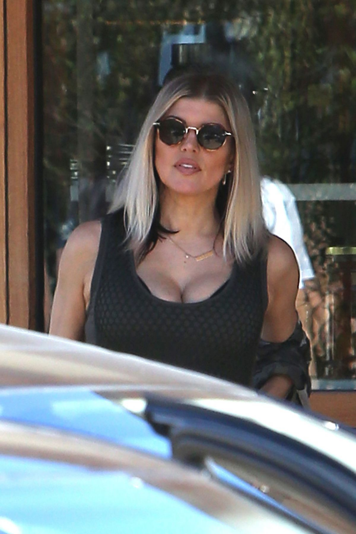 STACY FERGIE FERGUSON Out for Lunch  at Nobu in Malibu 04/30/2017