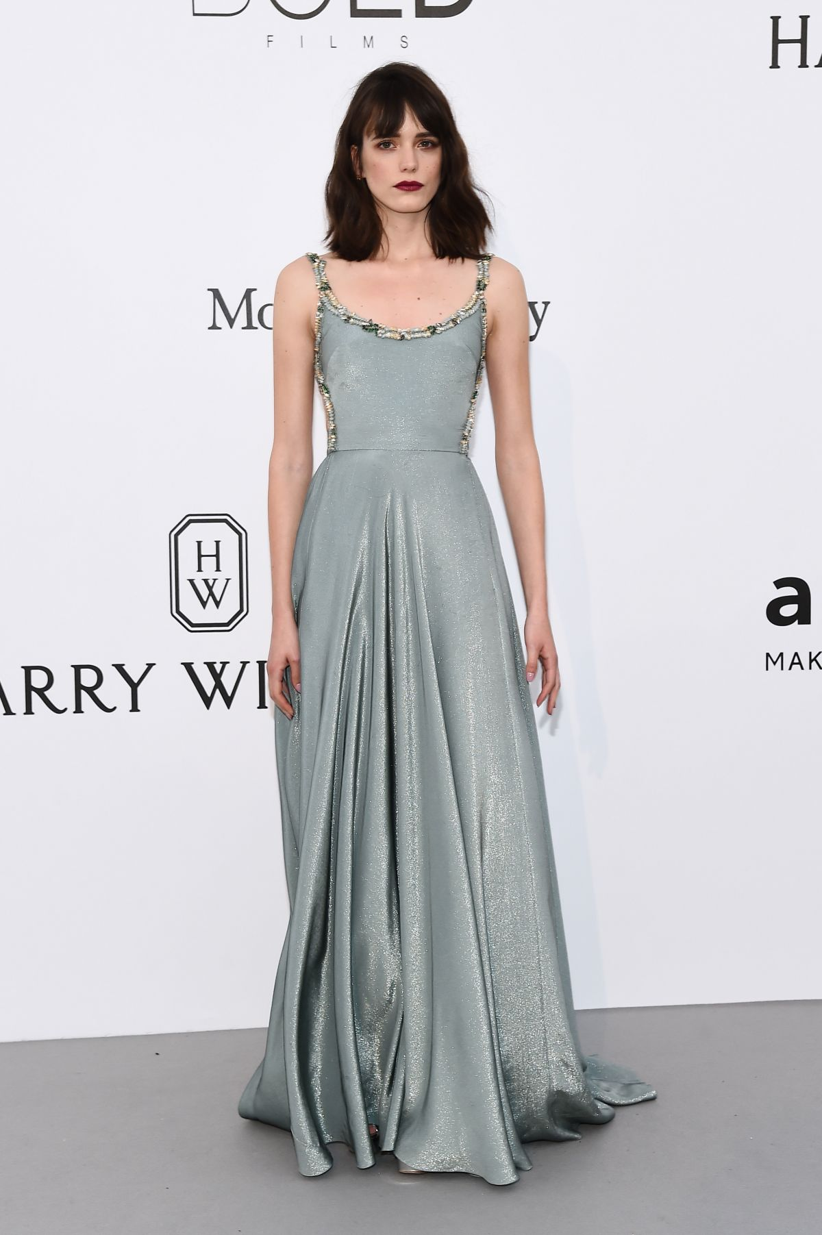 STACY MARTIN at Amfar