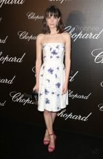 STACY MARTIN at Chopard Trophy Event in Cannes 05/22/2017