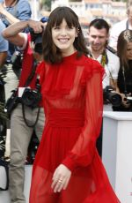 STACY MARTIN at Redoubtable Photocall at 2017 Cannes Film Festival 05/21/2017