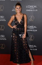 STEFANIE GIESINGER at L'Oreal 20th Anniversary Party at Cannes Film Festival 05/24/2017