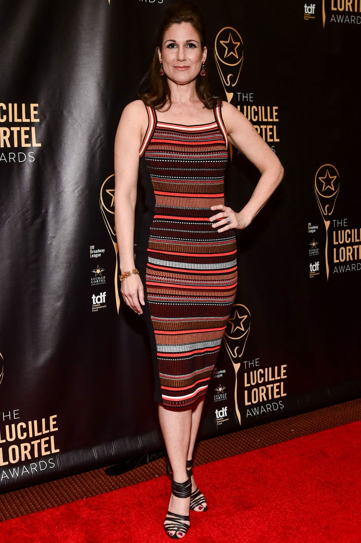 STEPHANIE J. BLOCK at 32nd Annual Lucille Lortel Awards in New York 05/07/2017