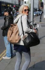 STEPHANIE PRATT Out and About in London 05/07/2017