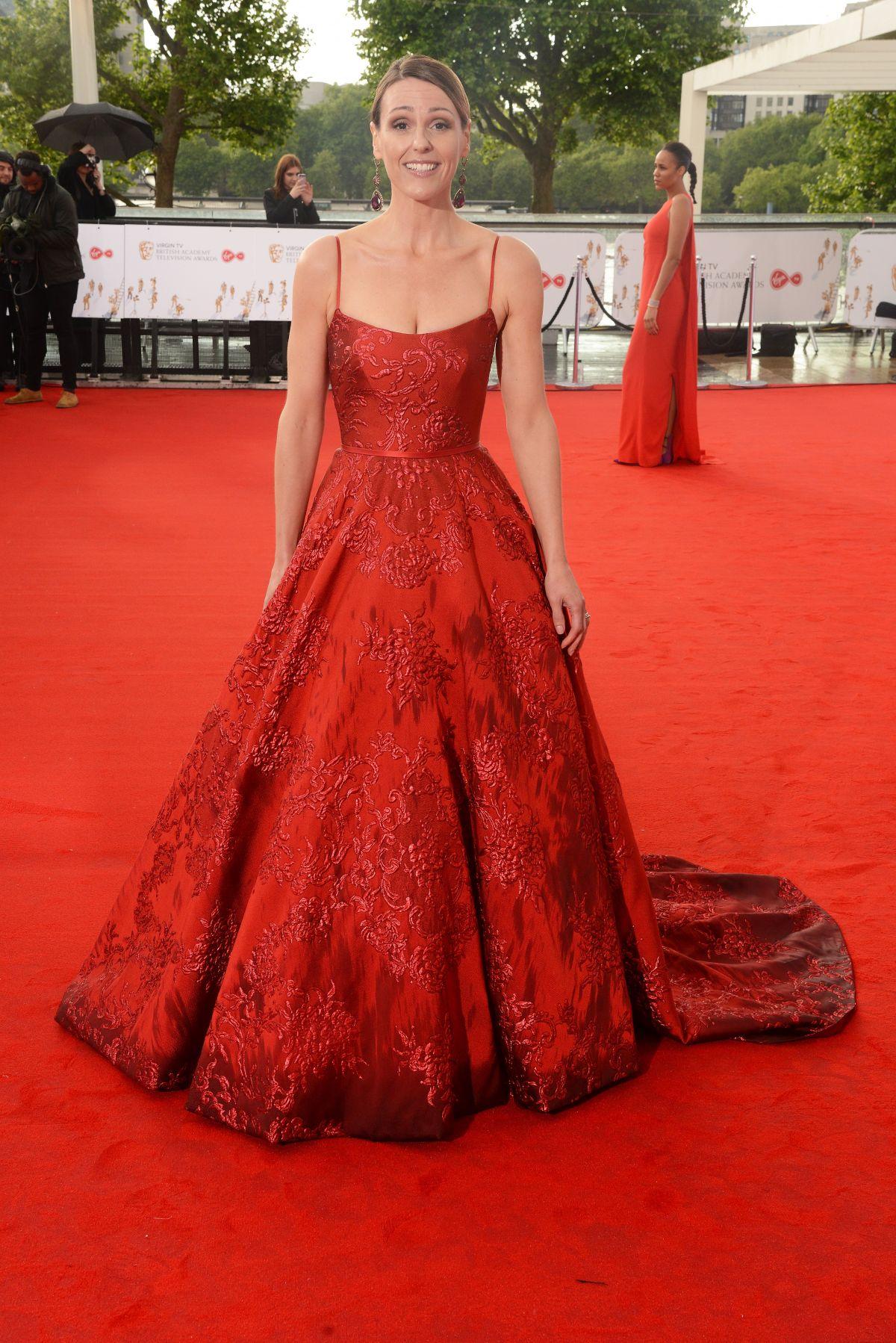 SURANNE JONES At 2017 British Academy Television Awards In