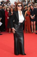 SUSAN SARANDON at Loveless Premiere at 2017 Cannes Film Festival 05/18/2017