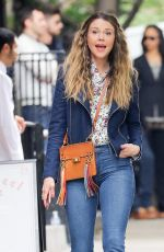 SUTTON FOSTER on the Set of Younger in New York 05/26/2017