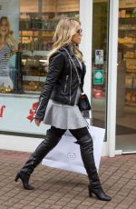 SYLVIE MEIS Out and About in Cologne 05/03/2017
