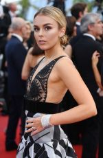 TALLIA STORM at Loveless Premiere at 2017 Cannes Film Festival 05/18/2017