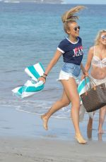 TALLIA STORM in Bikini at a Beach in Ibiza 05/12/2017