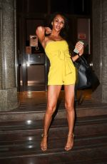 TALULAH EVE BROWN Arrives at Dr. Pam Spurrs Radio Show in London 05/27/2017