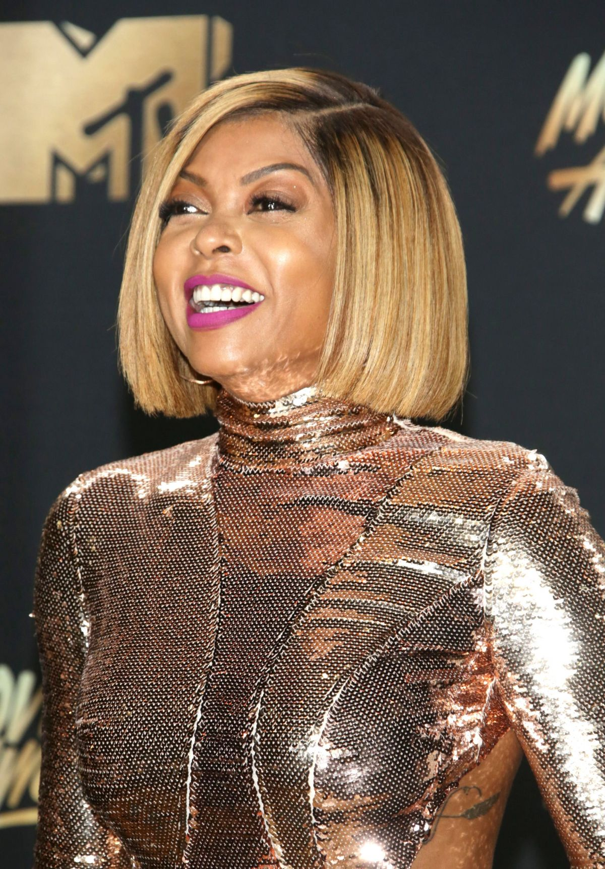 TARAJI P. HENSON at 2017 MTV Movie & TV Awards in Los ...