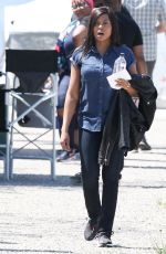 TARAJI P. HENSON on the Set of Proud Mary in Boston 05/18/2017