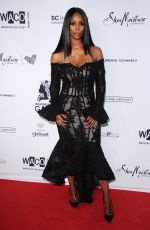TASHA SMITH at Wearable Art Gala at California African American Museum in Los Angeles 04/29/2017