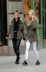 TAYLOR HILL and DAPHNE GROENEVELD Leaves a Gym in New York 05/08/2017